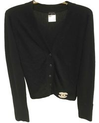 Chanel Jersey en cachemira negro