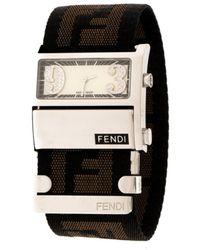Fendi Black Steel