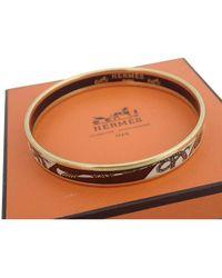 Hermès - Bracelet Email Metal Bracelets - Lyst