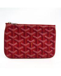 Goyard - Cloth Clutch Bag - Lyst