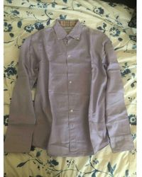 Burberry Shirt - Purple