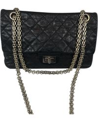 8fa94af524e5 Lyst - Chanel Timeless Leather Crossbody Bag in Black