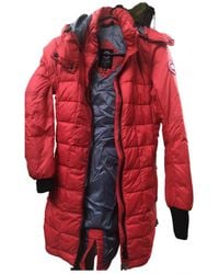 Canada Goose Puffer - Red