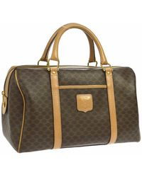 Celine Leather Handbag - Multicolor