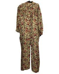 Zadig & Voltaire Silk Jumpsuit - Multicolour