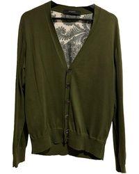 Givenchy Pull.Gilets.Sweats en Coton Vert