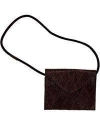 Elizabeth and James Brown Synthetic Handbag