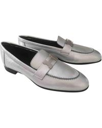 Hermès - Pre-owned Leather Flats - Lyst