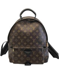 Louis Vuitton - Palm Springs Leather Backpack - Lyst
