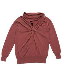 Lanvin Brown Wool Knitwear