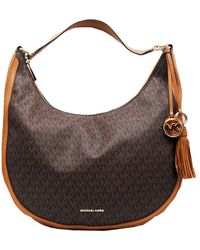 Michael Kors Brown Cloth Handbag