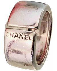 Chanel Silber Ringe - Mettallic