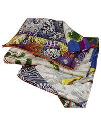 Hermès Foulards Carré Géant silk en Soie Multicolore