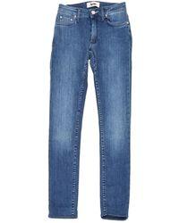 Acne Studios Flex Skinny Jeans - Blau