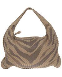 b934c71988 Bottega Veneta Veneta Intrecciato Large Shadow Hobo Bag in Natural ...