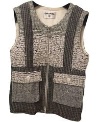 Chanel Tweed Jacket - Gray