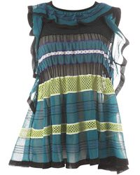 Missoni Turquoise Synthetic Top - Blue