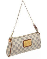 Louis Vuitton Milla Ecru Cloth Handbag - Multicolour