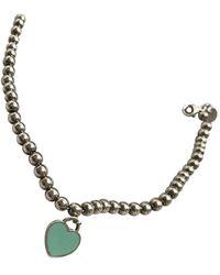 Tiffany & Co. Pulsera Return to Tiffany de Plata - Azul