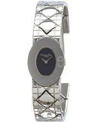 Dior - Vintage Silver Steel Watches - Lyst
