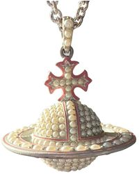 Vivienne Westwood Perlen colliers - Weiß