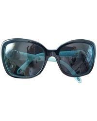 Tiffany & Co. Oversized Sunglasses - Blue