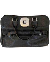 Longchamp Gatsby Leather Handbag - Black