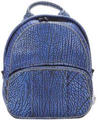 Alexander Wang Blue Leather Bag