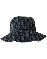 Dior Cloth Hat - Blue