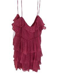 Claudie Pierlot Silk Mid-length Dress - Pink
