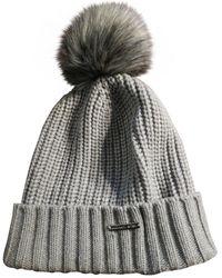 Michael Kors Gray Wool Hats