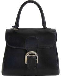 Delvaux - Le Brillant Blue Leather - Lyst