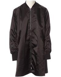 Acne Studios - Black Polyester Jacket - Lyst