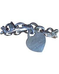 Tiffany & Co. Return To Tiffany Grey Silver Necklaces