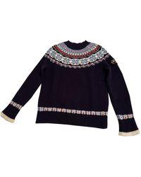 Chanel Wool Jumper - Blue