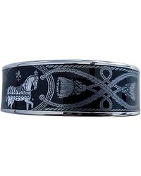Hermès Bracelet Email Armbänder - Schwarz