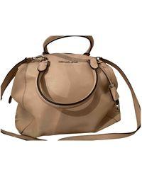 Michael Kors Riley Pink Leather Handbag