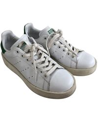 adidas Stan Smith Leder Sneakers - Weiß