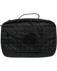 Chanel Black Cloth Travel Bag