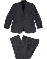 Dior - Pre-owned Grey Wool Suits - Lyst
