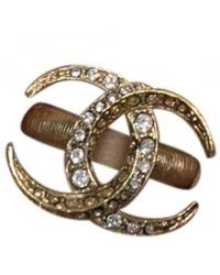 Chanel Metal Rings - Multicolour