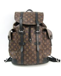 Louis Vuitton Alpha Backpack Leinen Taschen - Braun