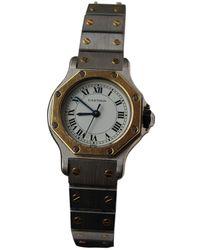 Cartier Santos Ronde Uhren - Mehrfarbig