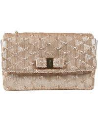Ferragamo - Pre-owned Gold Leather Handbags - Lyst