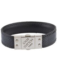 Louis Vuitton Leinen Armbänder - Schwarz