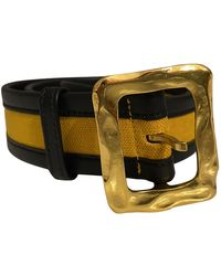 Christian Lacroix Cloth Belt - Black