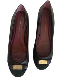 Marc By Marc Jacobs Leather Ballet Flats - Black