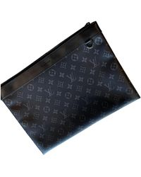 Louis Vuitton Discovery Anthracite Cloth Bag - Blue