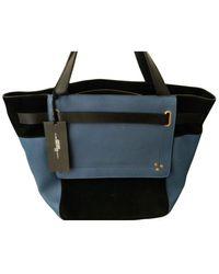 Jérôme Dreyfuss Vladimir Leather Handbag - Blue