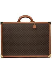 Céline \n Brown Cloth Travel Bag